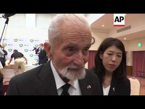 US veteran returns Japan flag to soldier's family