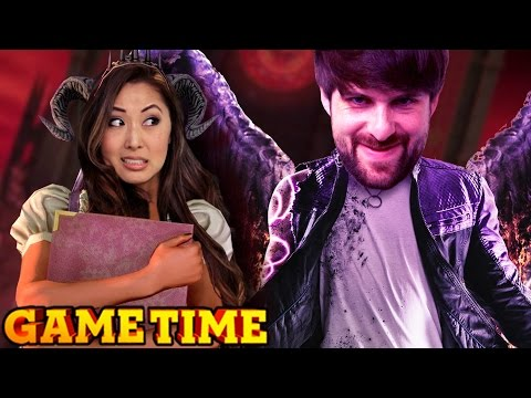 KICKING DEMONS IN THE BALLS (Game Time w/ Smosh Games)