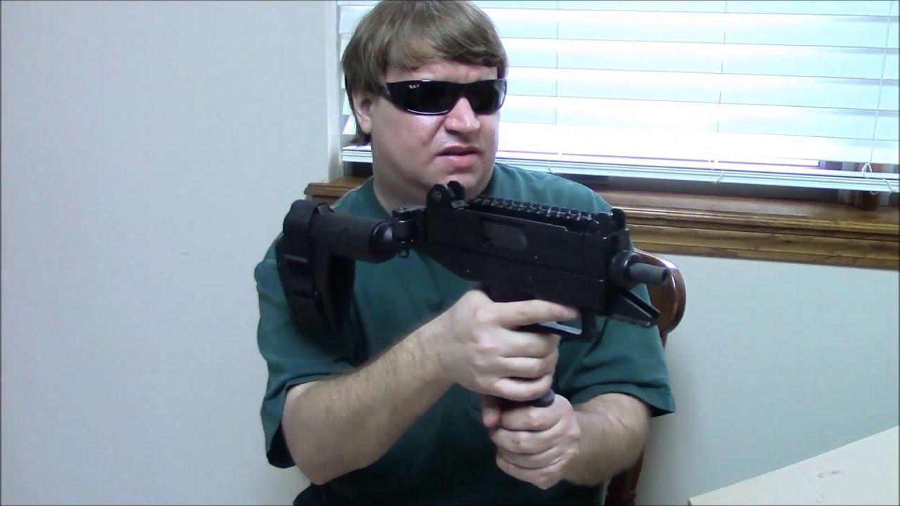Israeli IWI Uzi Pro Pistol with IWI Brace Review
