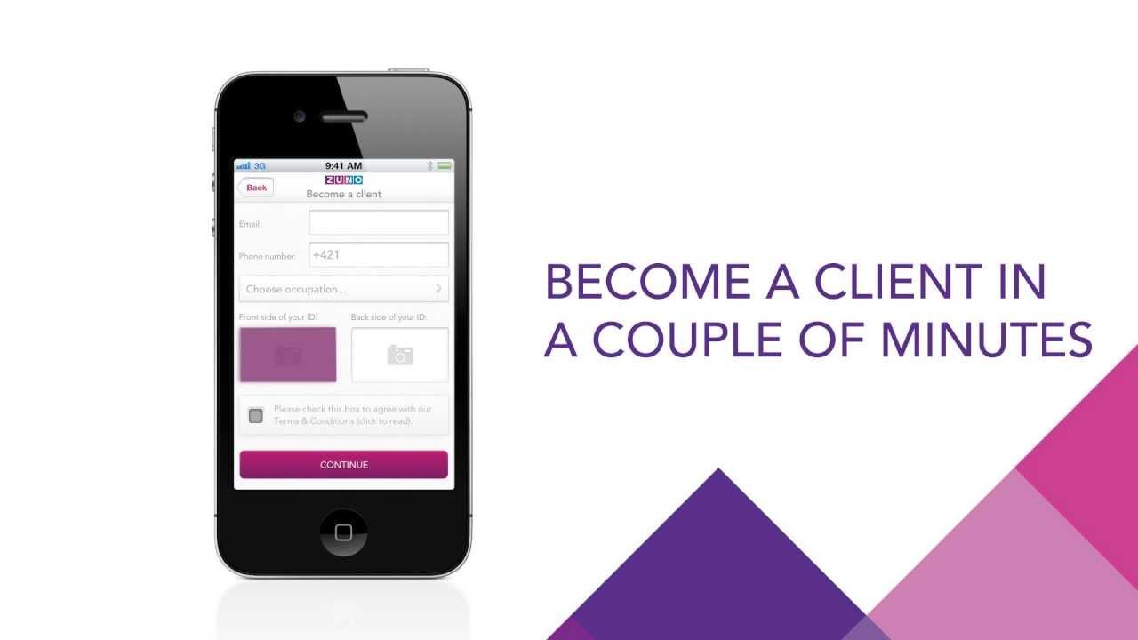 ZUNO Bank Mobile Banking App - YouTube