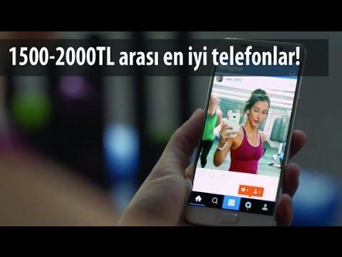 1500 - 2000 TL arası en iyi akıllı telefonlar - Aralık 2016