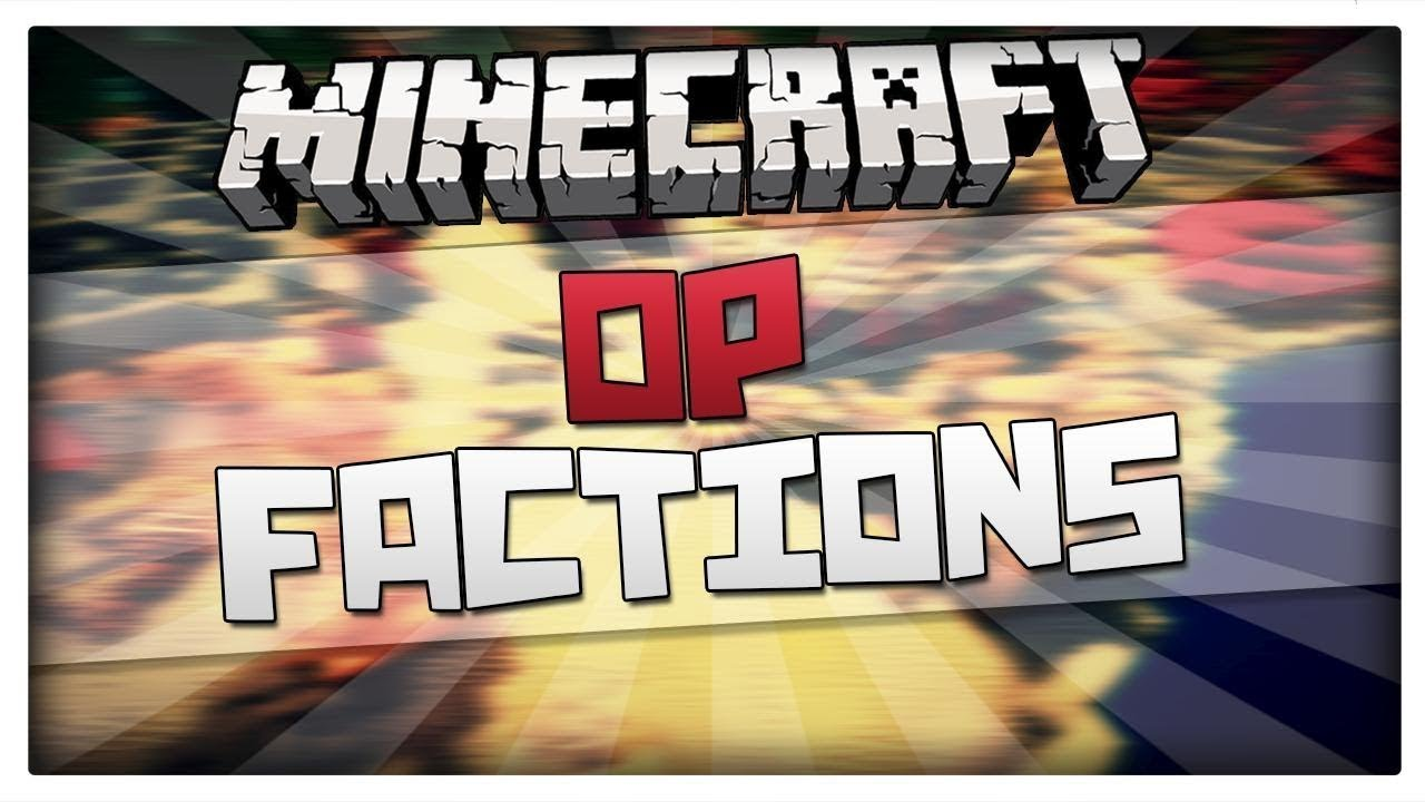 Minecraft Premade OpFactions Server High Quality Free Download