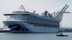 Passengers disembark virus hit Grand Princess cruise ship
