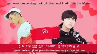 NCT U The 7th Sense Color Coded Hangul Rom Eng Lyrics