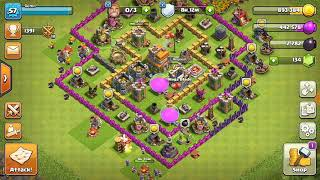 Clash of clans # Trick or treat event with pumpkin barbarians ,giant skeletons # Halloween special