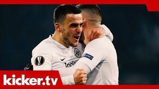 Frankfurt und Leverkusen - Ziel Achtelfinale der Europa League -   kicker.tv