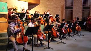 Gambar cover Tidewater Cello Ensemble-Pachelbel Canon in D, arr. by Piano Guys
