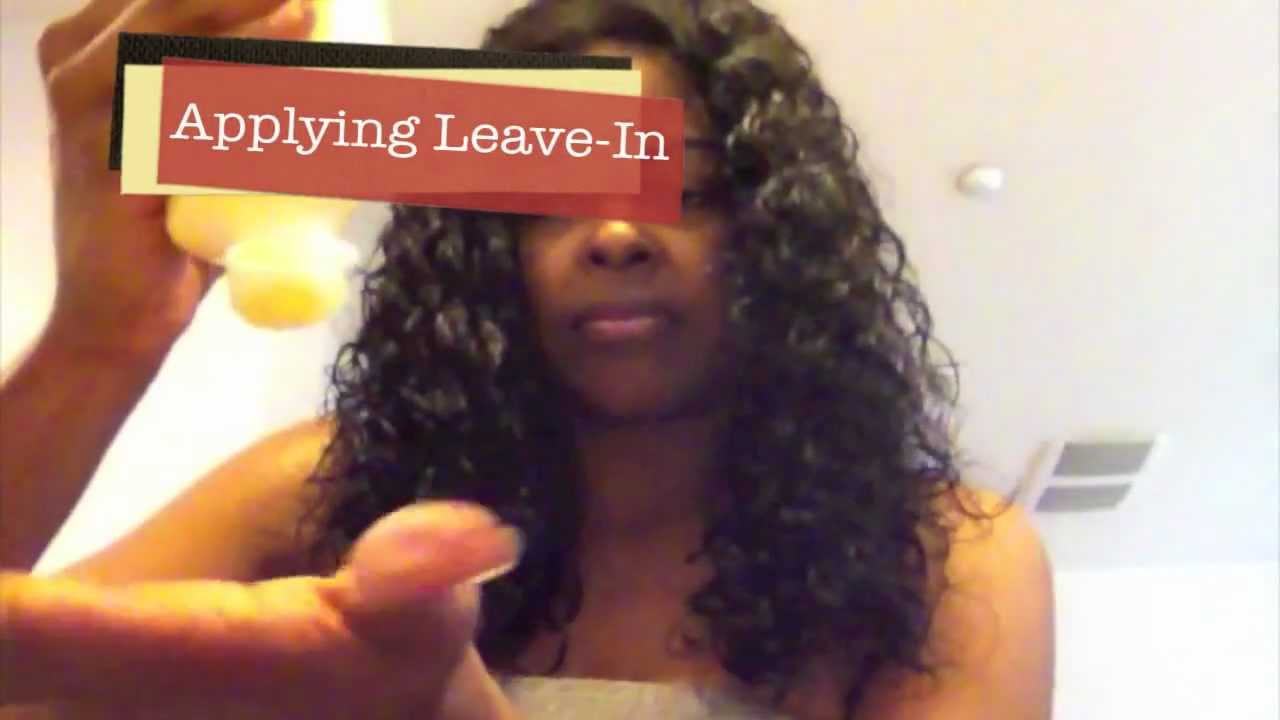 How To Detangle Virgin Curly Hair And Revive Curly Weaves Youtube