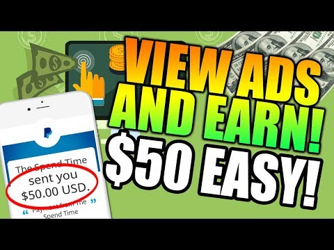 VIEW ADS AND EARN $50 Paypal!
