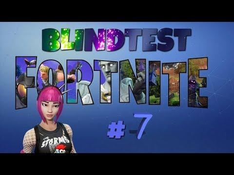 FORTNITE - Blind test #7 (Films/Séries/Dessin animé/Jeux vidéo/Musique)