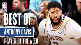 Anthony Davis | Full Highlights | Western Conference Player Of The Week