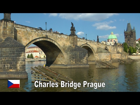 Charles Bridge - Prague - Cèchia (1080p)