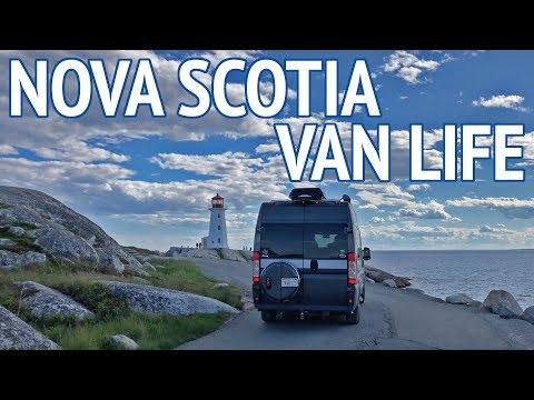 Camper Van Travel In Nova Scotia | Camper Van Life S1:E58