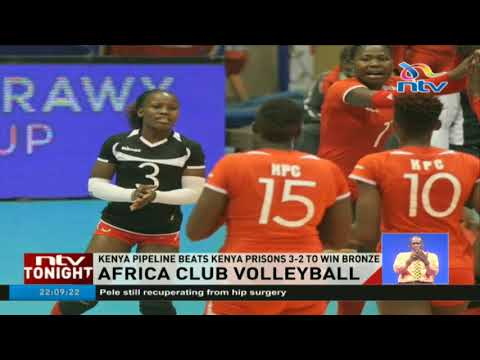 Kenya Pipeline beat Prisons to win bronze at volleyball championship