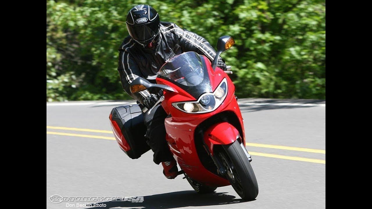2007 triumph sprint st first ride - motousa - youtube