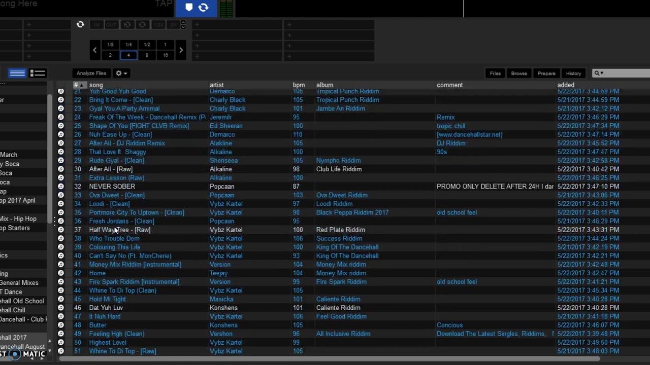 Serato DJ Playlist Issue