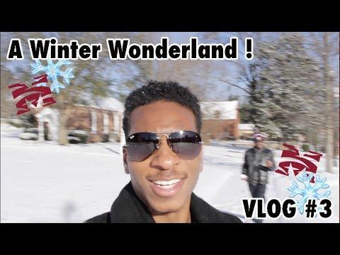 MOREHOUSE COLLEGE: THE WINTER WONDERLAND || VLOG #3