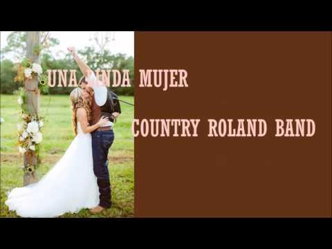 country-roland-band---una-linda-mujer-(letra)-|música-country-en-español|