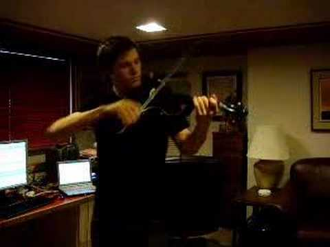 Electric Violin - Cliffs of Dover - (CLEAN cover)