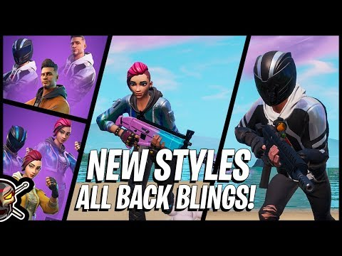ALL Back Blings On The *NEW* Shade And Maverick Edit Styles!