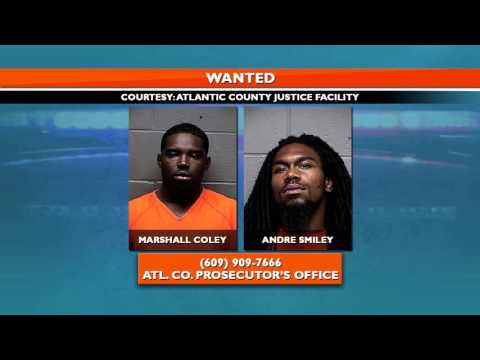 Two Men Wanted in Atlantic County Shooting Death