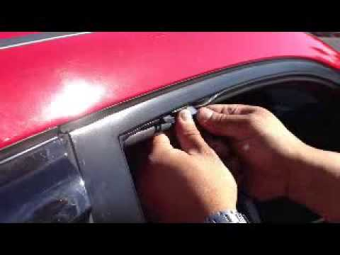 how to fix honda civic manual window off track