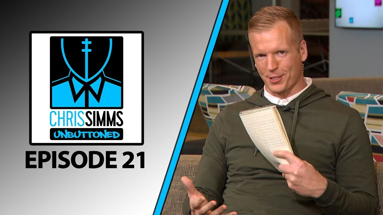 NFL Schedule Reactions, Missouri's Drew Lock + Dad's QB Ranks | Chris Simms Unbuttoned (Ep. 21 FULL)