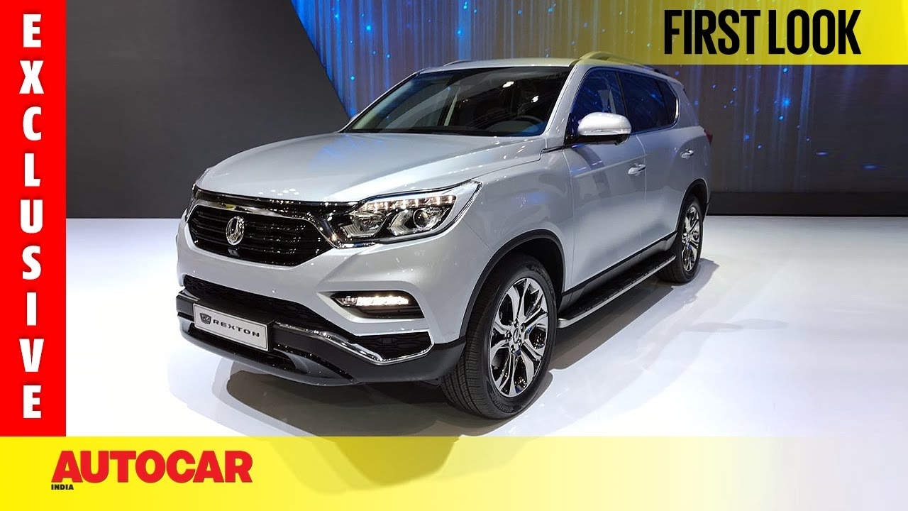 New SsangYong G4 Rexton | Exclusive First Look | Autocar India