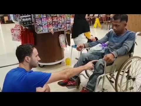 20 Years Paralyzed as a young Muslim man walks at the end. He gave his life to Jesus. Indonesia.