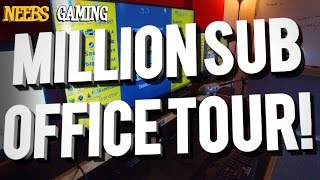 One Million Sub Office Tour!