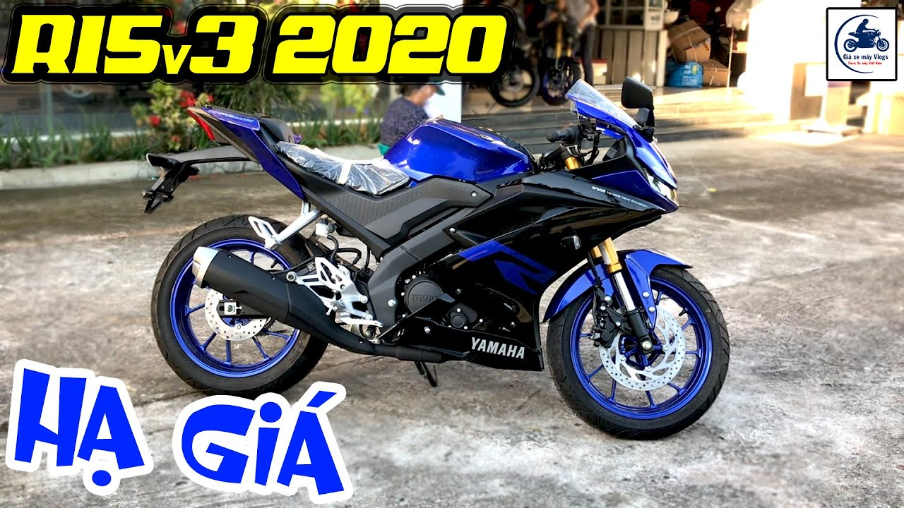Giá xe Yamaha R15v3 giảm MẠNH tháng 8/2020 ▶️ Có nên mua YAMAHA R15v3 2020 🔴 GIÁ XE MÁY VLOGS