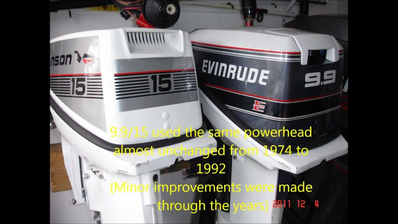 How to convert a Johnson or Evinrude 9 9 Hp to 15Hp (1974-1992)  2 stroke