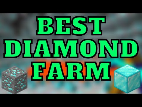 Best Diamond Farm For Minecraft Bedrock Edition On MCPE, Xbox, Ps4, Nintendo Switch, Windows 10!