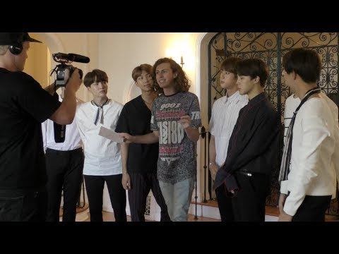 BTS interview - international success, music, charity!