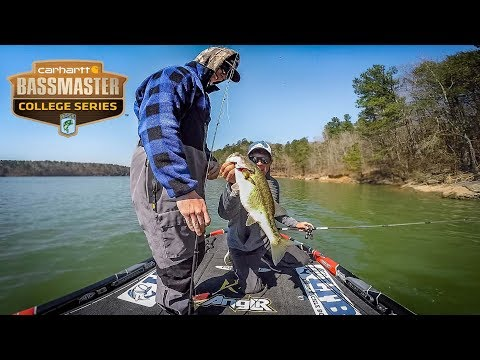 We FINALLY Found The BIG Bass - Smith Lake College Fishing Tournament