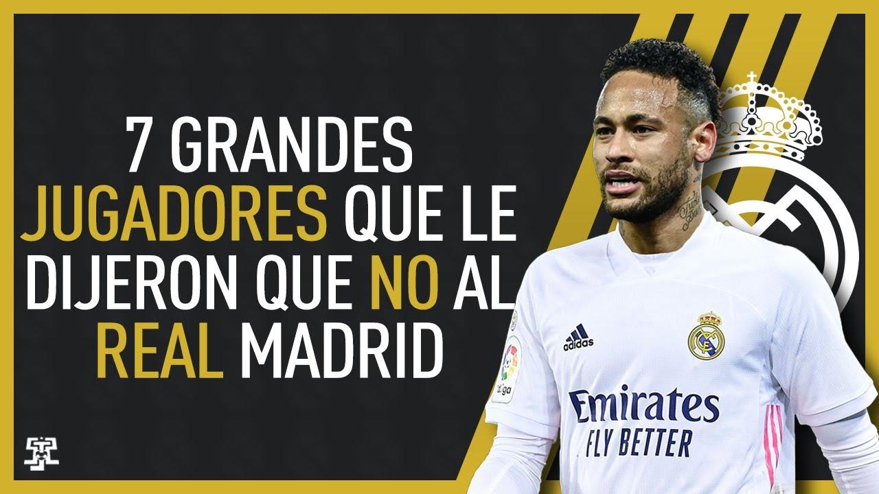 """Download 7 GRANDES JUGADORES que LE DIJERON """"NO"""" al REAL MADRID"""