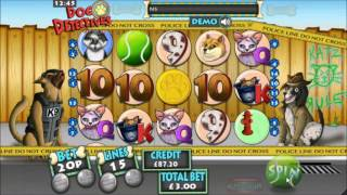 Mr Spin - Dog Detectives Slot - Feline Felons Feature Gameplay