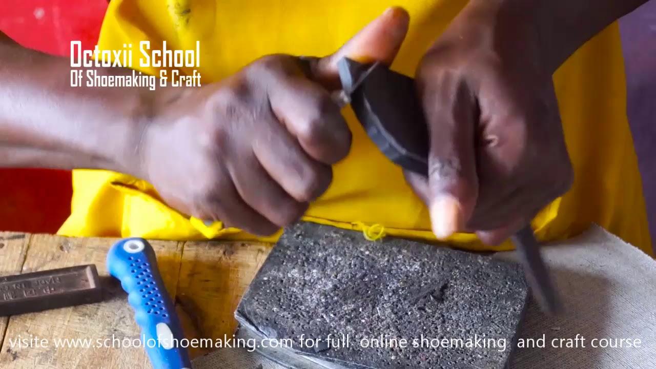 dfdfc84afd893 Shoe sole construction ballerina (online shoe making & craft course 022)