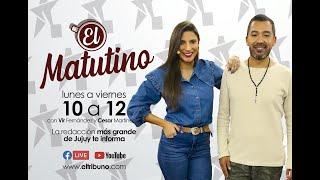 """#EnVivo """"El Matutino"""" Lunes 6 de Septiembre"""