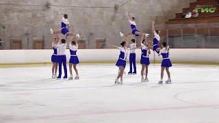 Третий этап Кубка России по синхронному фигурному катанию завершился в тольяттинском Дворце спорта