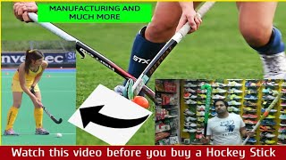 Hockey sticks compositions and essential guidelines FIH Hockey