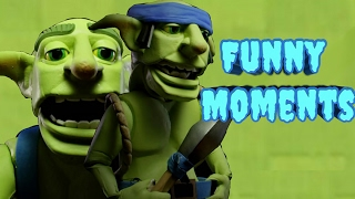 Funny Moments & Glitches & Fails #4 - Clash Royale