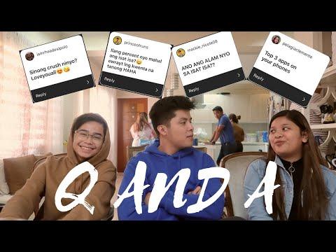 Q And A Vlog | | Brian Gazmen, Mackie Empuerto And Elha Nympha