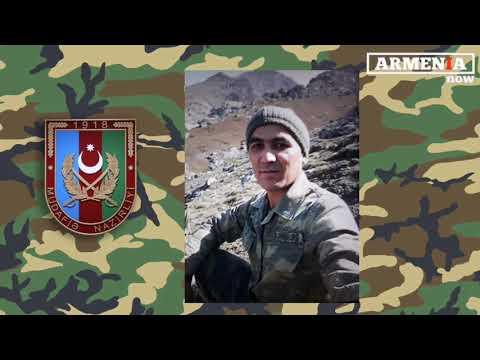 """Тело азербайджанского боевика остался на """"нейтральной территории"""""""