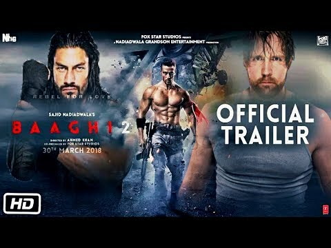 Roman Reigns In Baaghi 2 Official Trailer - RY Creation Studio.