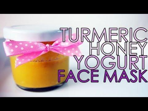 TURMERIC HONEY YOGURT FACE MASK FOR NORMAL SKIN - SOUND ...