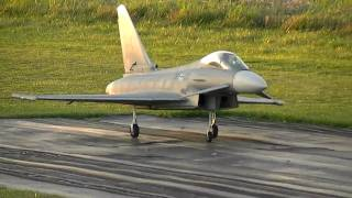 Eurofighter Typhoon Big Twin 127mm Edf Rc Jet Re Maiden