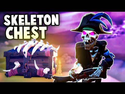 The RAREST Treasure in Sea of Thieves!  How To get the Epic SKELETON CHEST (Sea of Thieves)