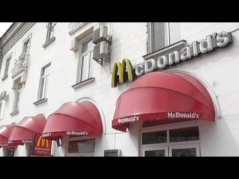 McDonald's pulls out of Crimea, says it's only temporary - economy