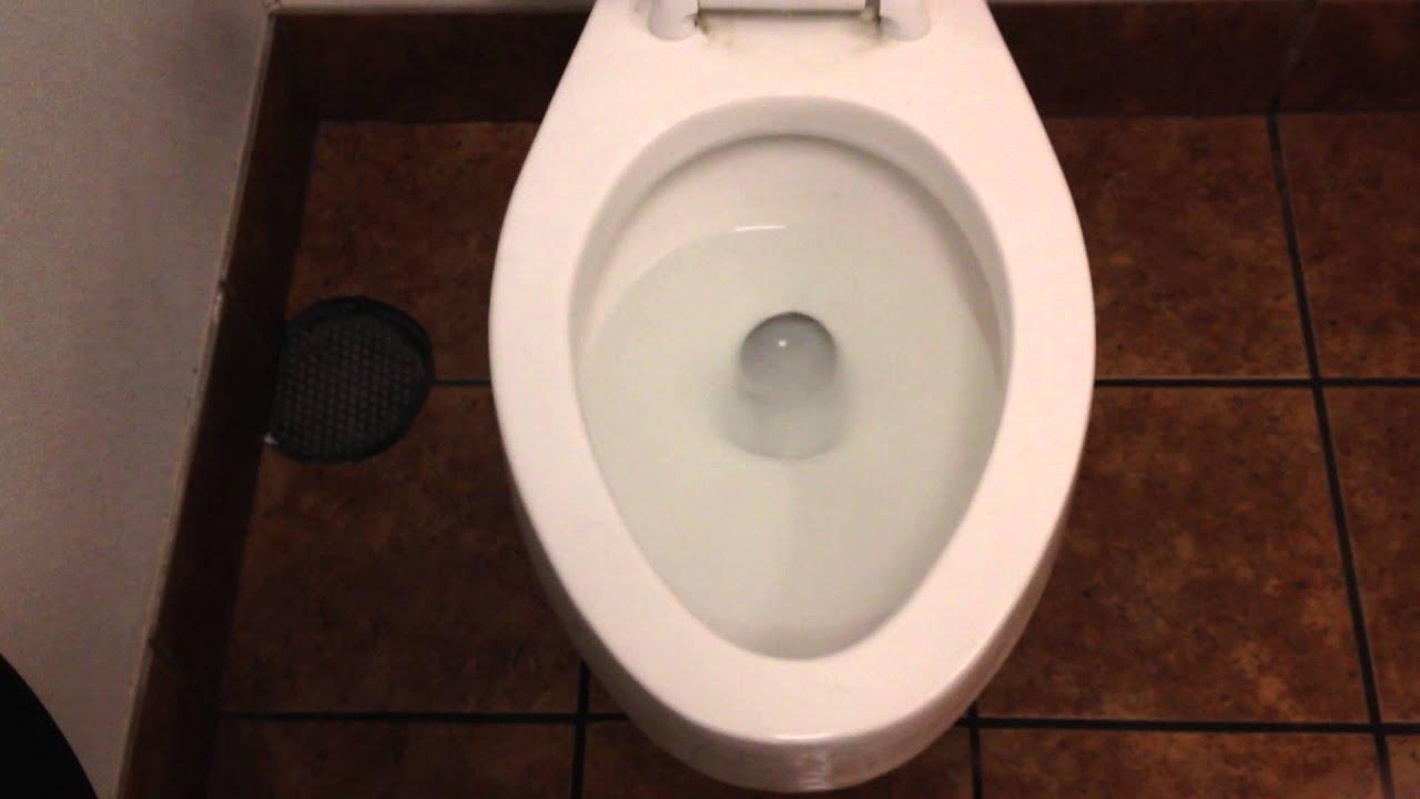 4518 1971 1983 American Standard Cadet Toilet On Flush